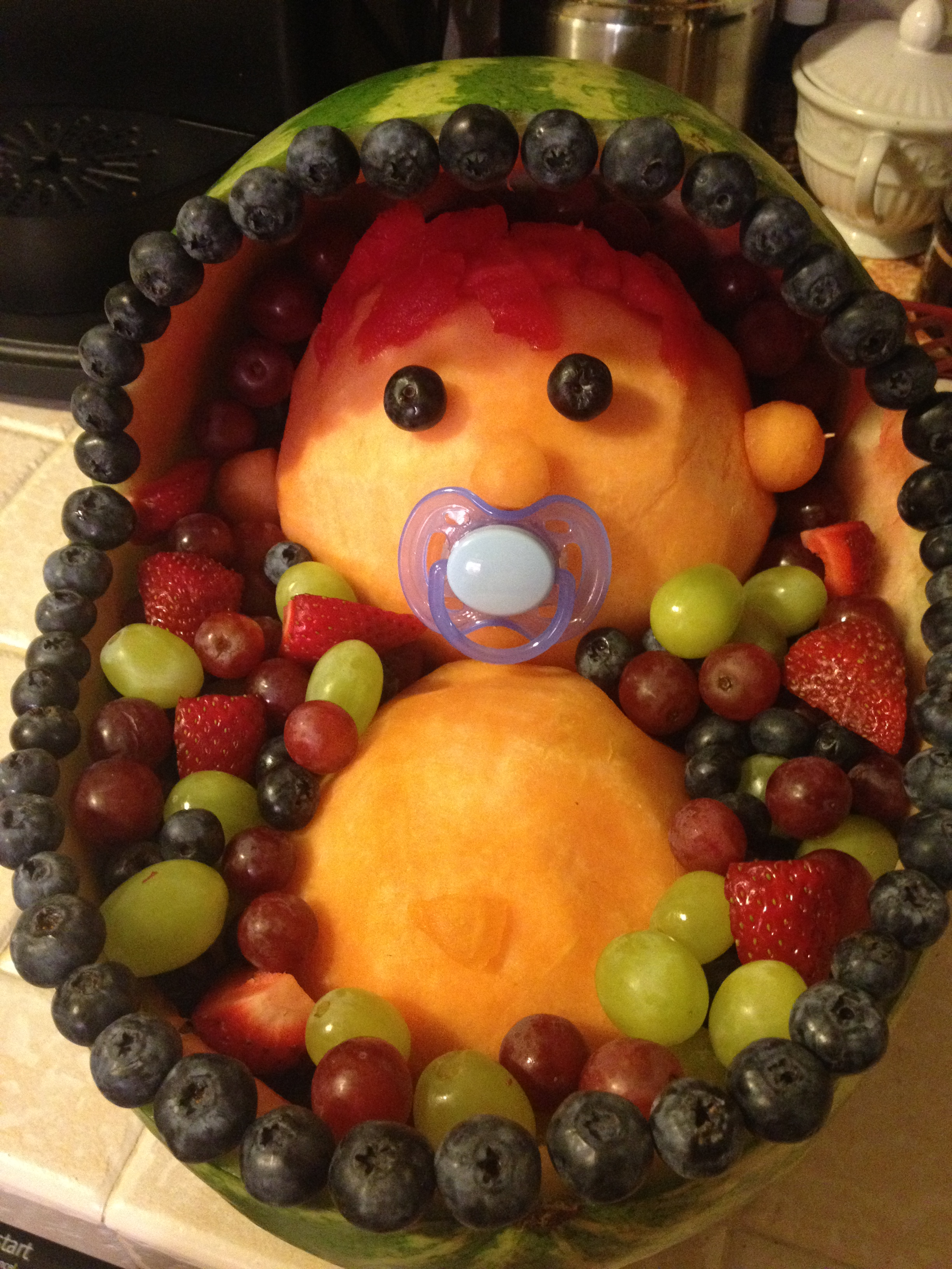 Fruit Tray Ideas For Baby Shower Creative Baby Shower Fruit Trays